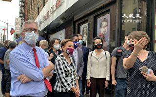 華埠餐館指望戶外用餐拯救生意