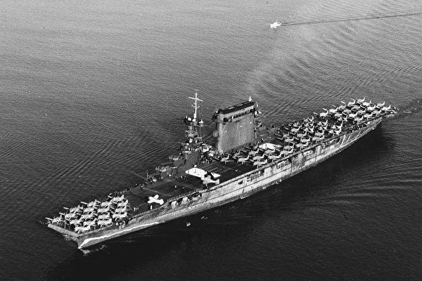 二次世界大战期间 用这招让军舰消失