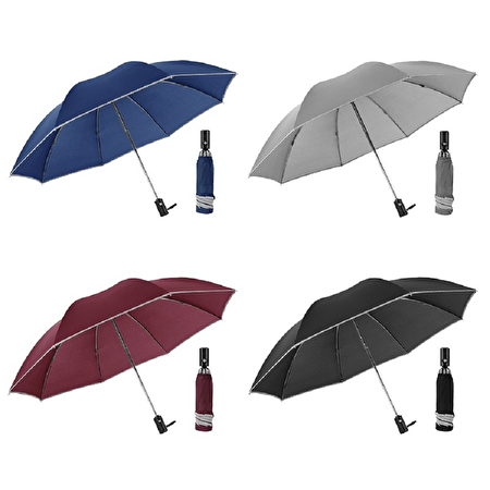 全自動折疊反向雨傘。