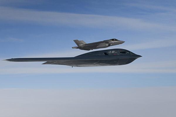 空中隱形戰術演習 美軍匿蹤戰機精銳盡出