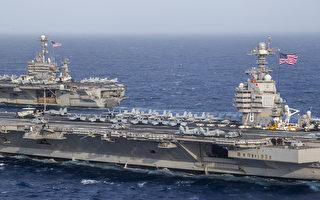 美福特号航母可发动更多空袭 发射更多弹药