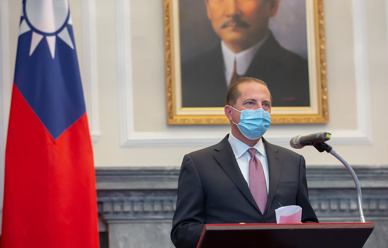 美部長訪台 分析:防疫產業供應鏈去中國化