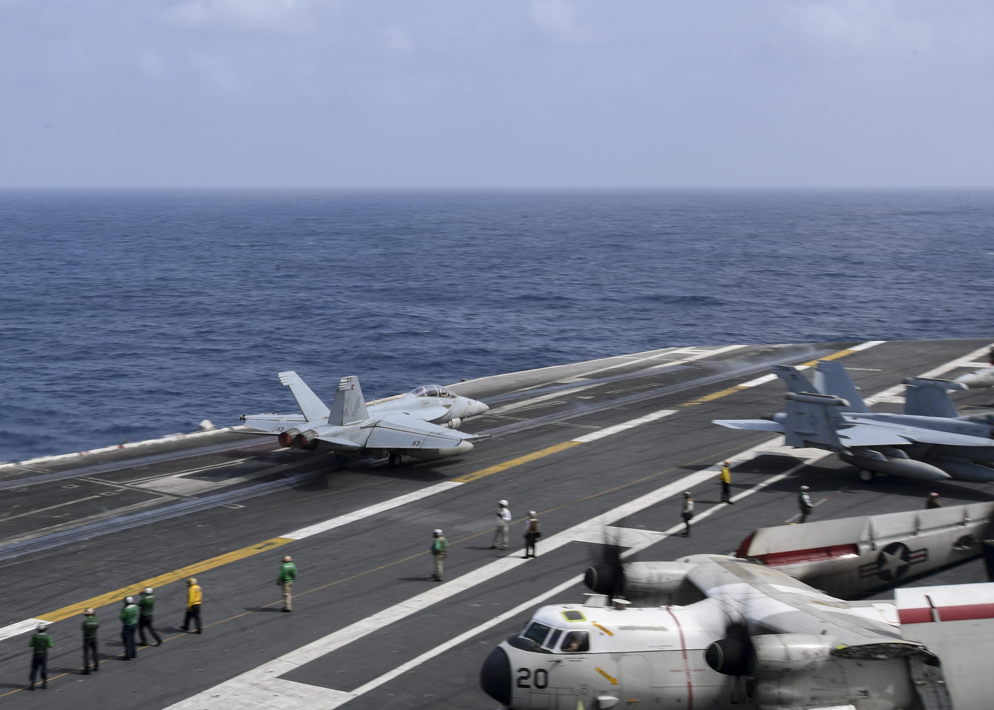 美開始研發第六代艦載戰機 因應中俄威脅