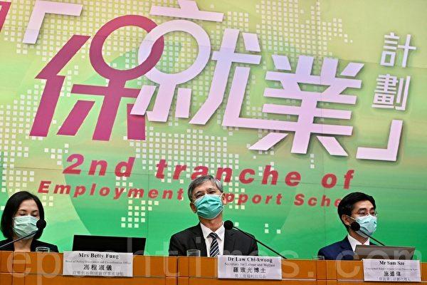 香港政府推出第二期保就业计划