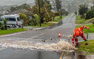 恶劣气候袭击新州:狂风肆虐 严重洪水警告