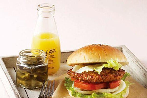 厚切雞肉豆腐漢堡 早午餐最佳減脂輕食