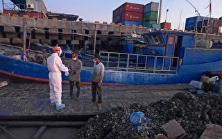 金門海巡查獲陸船越界作業 查扣約2萬條石蚵