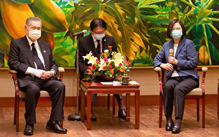 森喜朗率日国会议员团吊唁李登辉 蔡英文接见