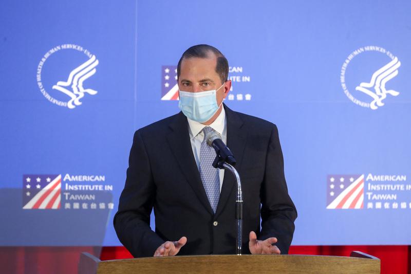 美衛生部長讚台防疫正向典範 是世界可依賴夥伴