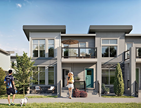 卡城地產,鎮屋,公寓