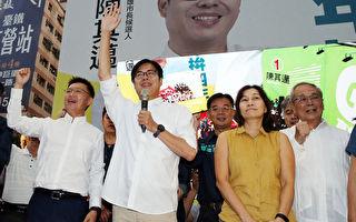 台湾高雄市长首次补选 陈其迈67万票当选
