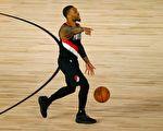 NBA:利拉德率领开拓者抢得季后赛席位