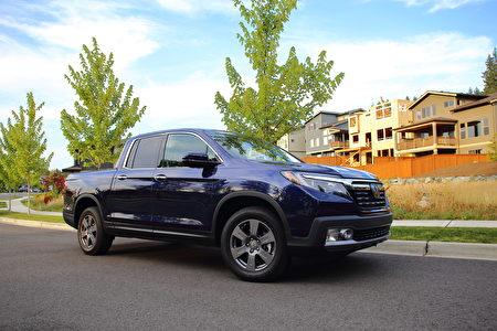 車評:九級變速 2020 Honda Ridgeline RTL-E