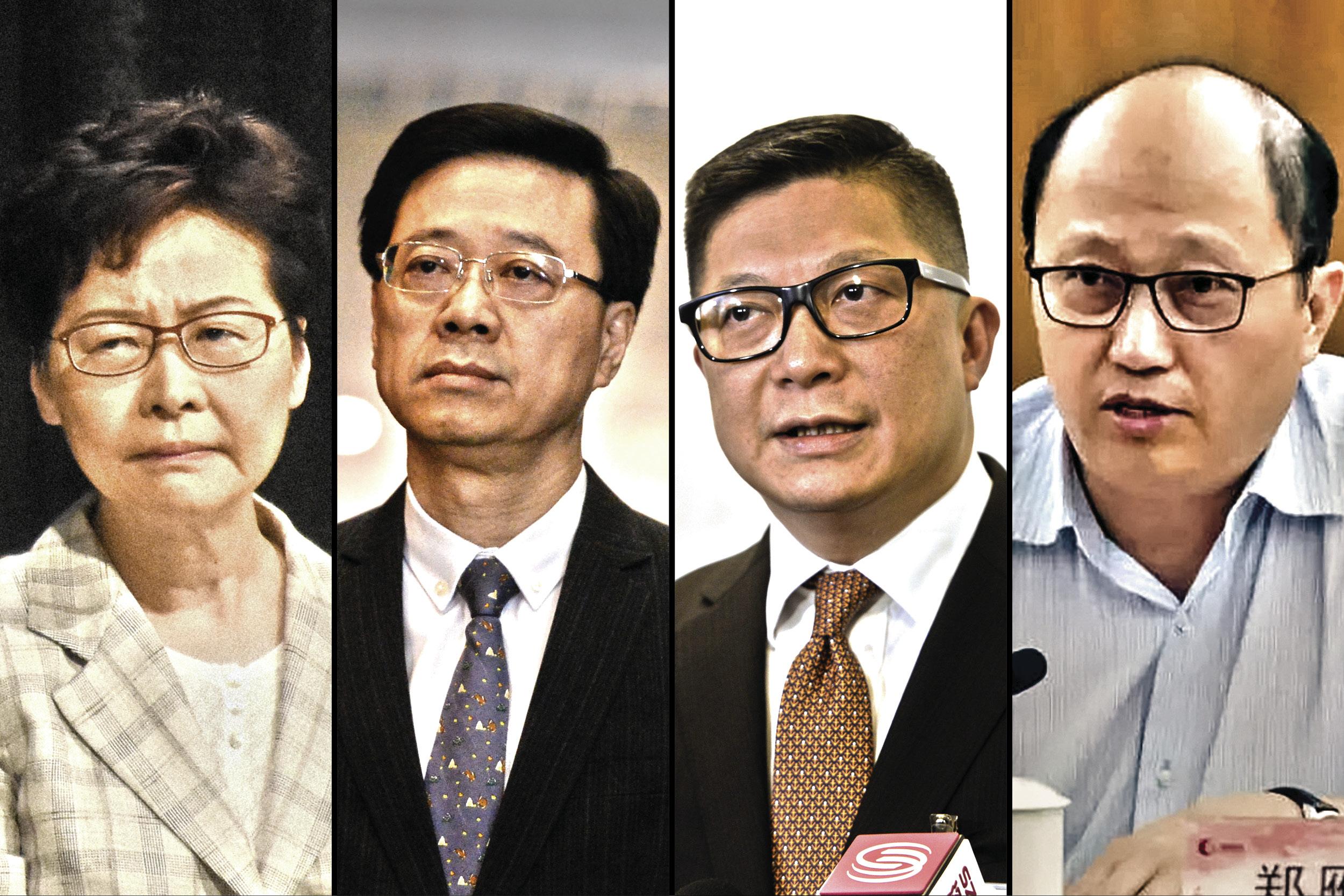 梳理香港銀行制裁政策 11名官員恐無所遁形