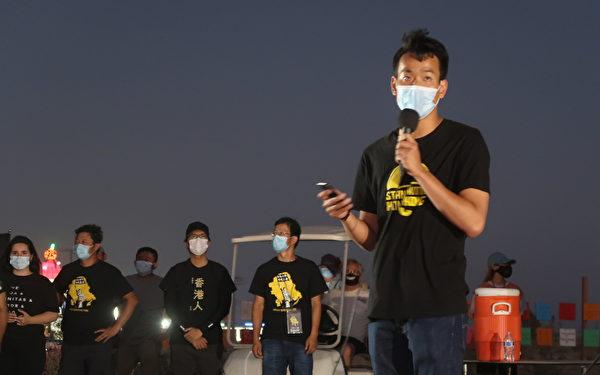 梁繼平認為從長遠角度看,流亡海外的香港人能發揮更多作用。(徐綉惠/大紀元)