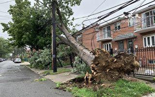 颶風過後供電仍未正常 影響遠程工作
