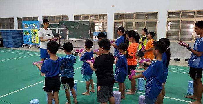 為離島孩子圓夢 台灣羽球三雄前進綠島