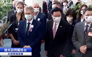 【影片】捷克参议长率团访台 包机抵达桃园机场