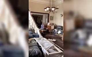 黎巴嫩爆炸 老奶奶废墟家中弹钢琴 感动人心