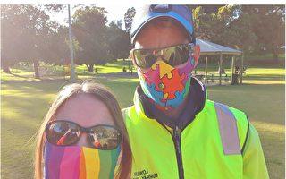 助社区抗疫 澳女子赠口罩传递爱心