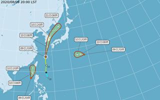 热带性低气压逼近台湾 恐增强为台风