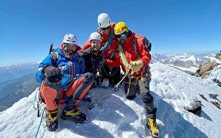 史上首位 英國雙腿截肢老兵成功登頂馬特洪峰