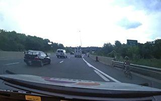 6歲男孩獨自在高速公路上騎車被攔截