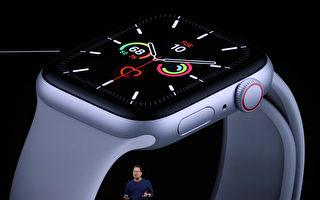 全球智慧手錶銷售增20% 蘋果穩居市場冠軍
