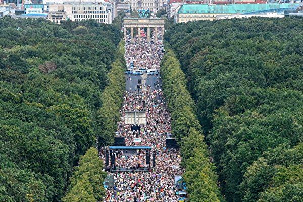 柏林政府禁止週末遊行 法院初審駁回