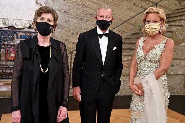 奥地利萨尔茨堡音乐节开幕 疫情中举行百年庆典