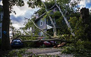 熱帶風暴伊薩亞斯重擊新澤西 140萬戶斷電