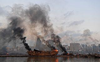 黎巴嫩男子被炸飞 漂流海上30小时奇迹获救
