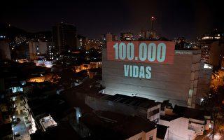 組圖:巴西聖保羅州長感染中共病毒