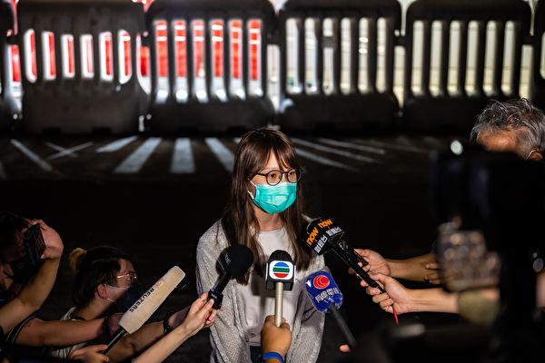 抵抗暴政周庭被捕4次 網友認證真正花木蘭