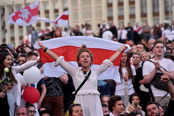 继欧盟后 美宣布不承认白俄罗斯总统大选结果