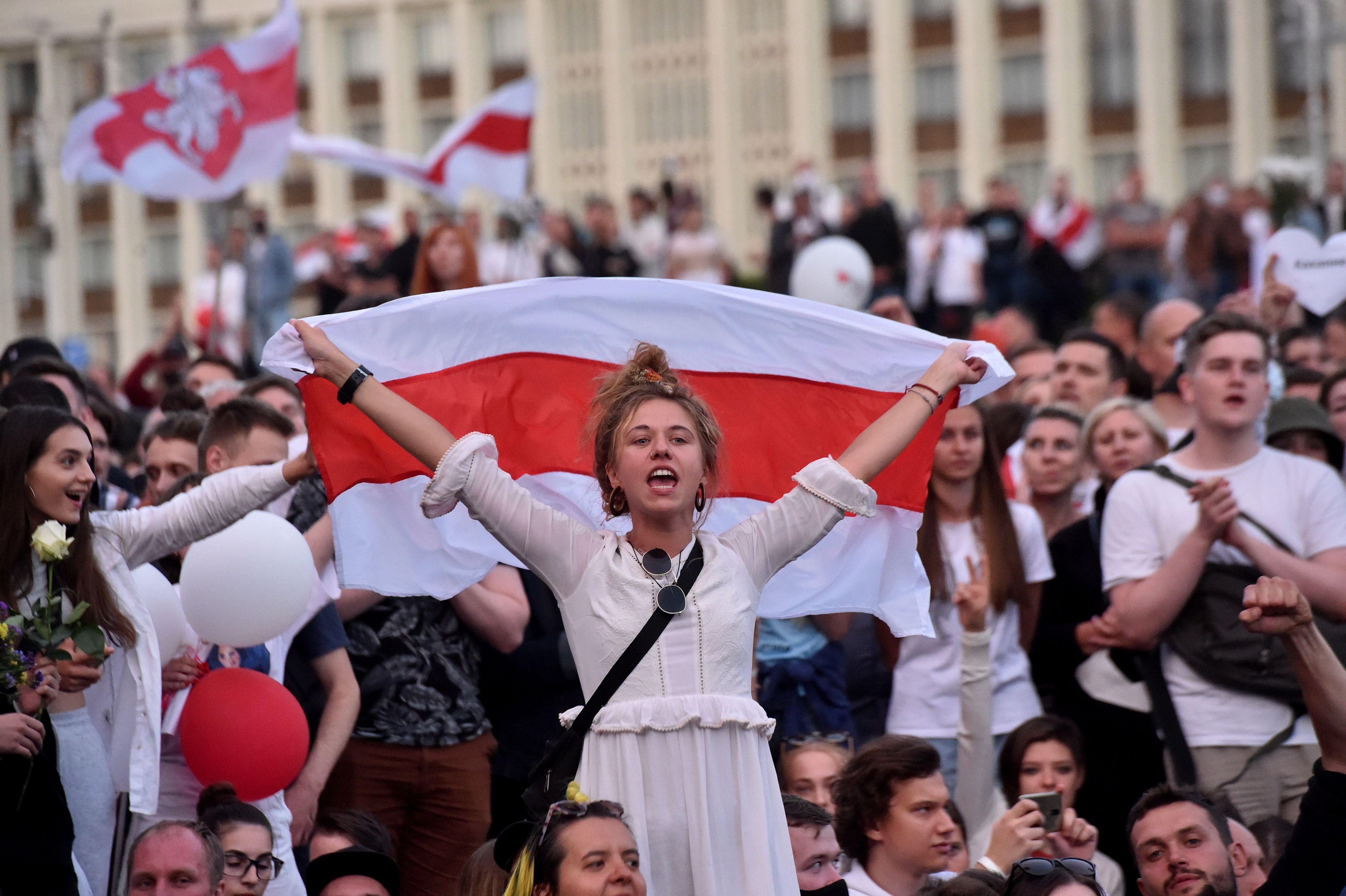 繼歐盟後 美宣佈不承認白俄羅斯總統大選結果