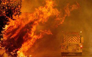 干打雷不下雨 加州等面临严重火灾风险