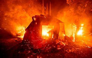 加州今年火灾逾七千起 过火面积超去年25倍