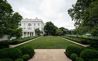 白宮玫瑰園已翻新 梅拉尼婭下週演講