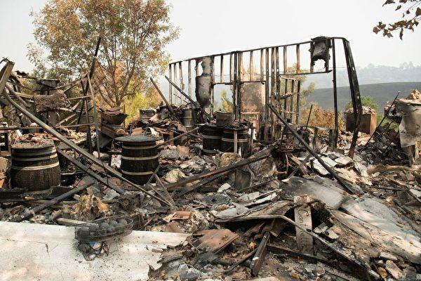 北加大火估计已烧毁逾3000建筑