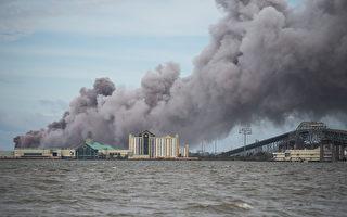 勞拉颶風釀火災 參議員:路州像被投過炸彈