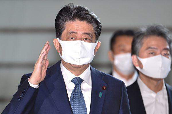 日本首相安倍晋三2020年8月28日于东京首相官邸举行的新闻发布会上宣布将辞职,解决健康问题。(Franck ROBICHON/ AFP)