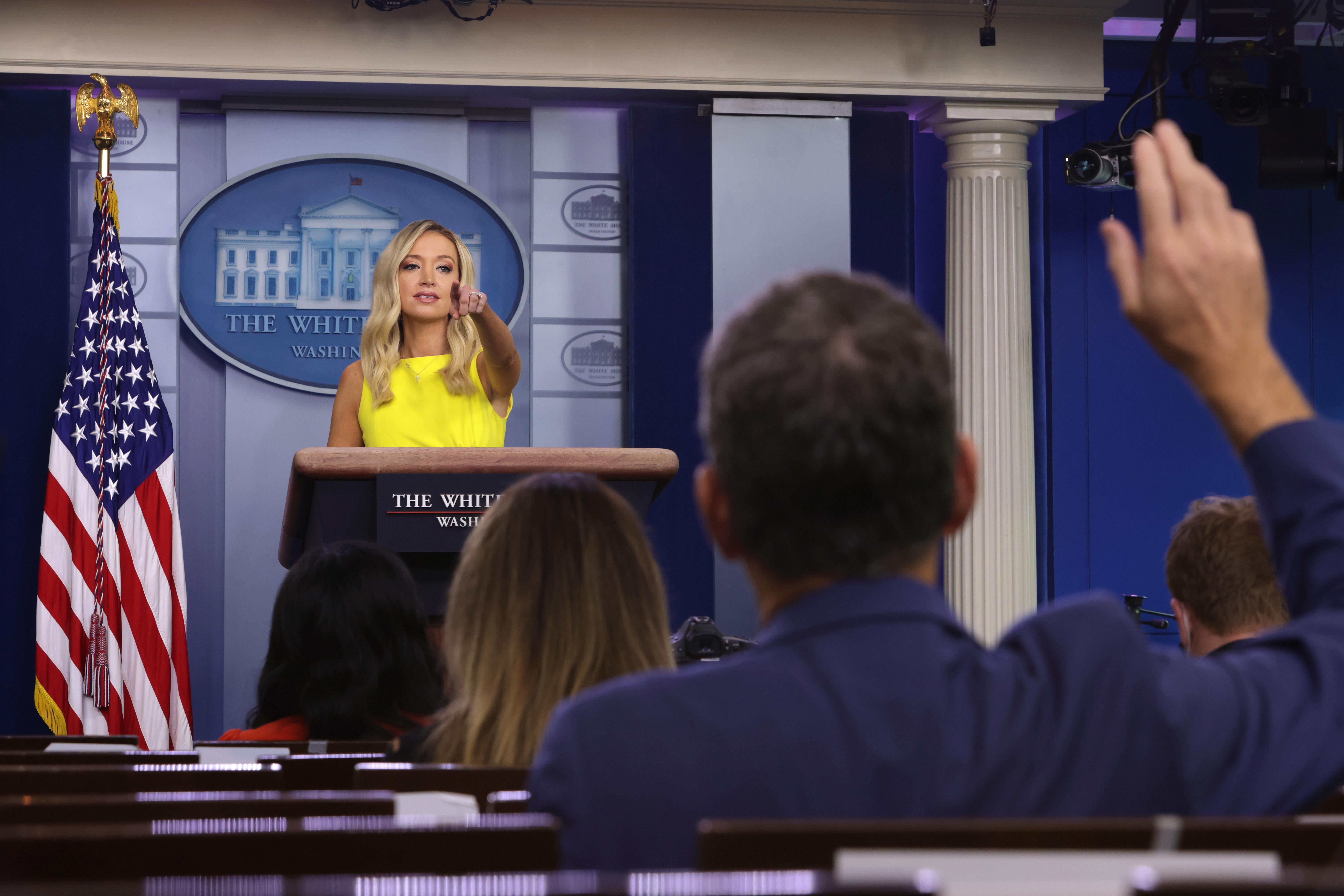 回應中共制裁美國人 白宮:總統將繼續強硬
