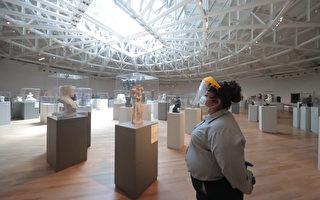 组图:封闭四个月后墨西哥城重开博物馆