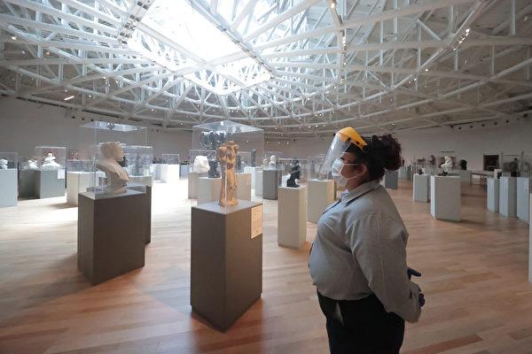 組圖:封閉四個月後墨西哥城重開博物館