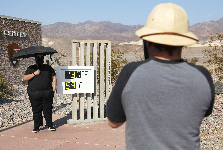 組圖:加州死亡谷高溫破紀錄 高達攝氏59度