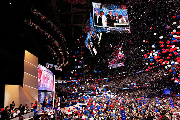 传川普将参加共和党全国代表大会四天会议