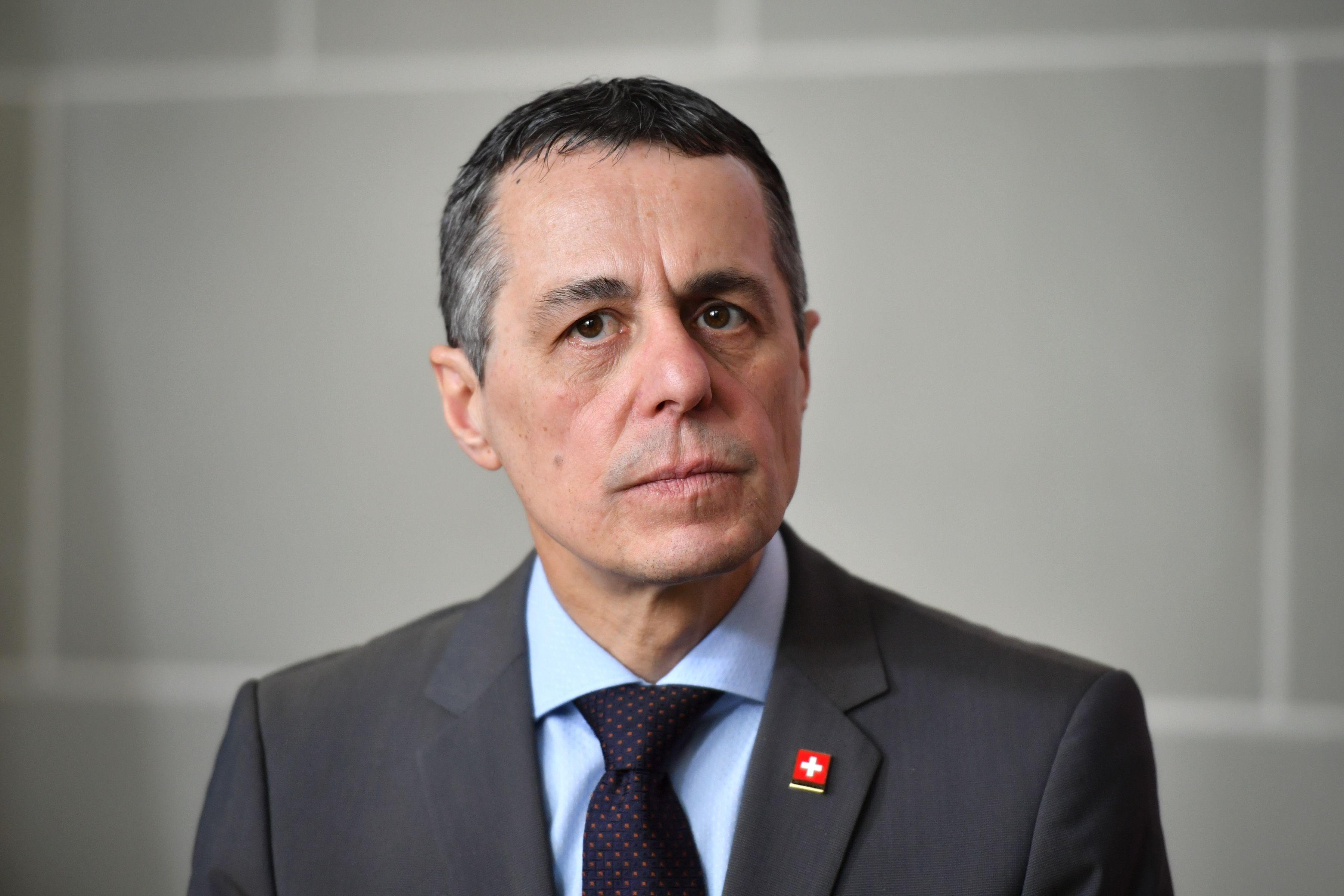 瑞士外長:中共侵犯人權 西方世界將果斷回應