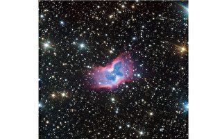 ESO首次捕捉到太空蝴蝶精美細節