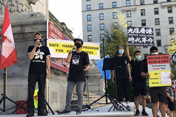 溫支聯強烈譴責中共非法DQ香港4議員
